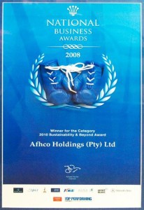 The National Business Award 2008